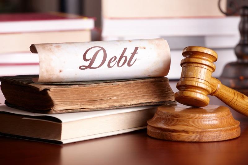 National Credit Adjusters debt law gavel